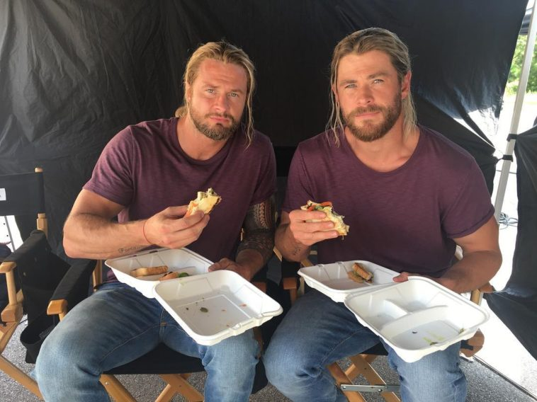 bobby holland hanton and chris hemsworth