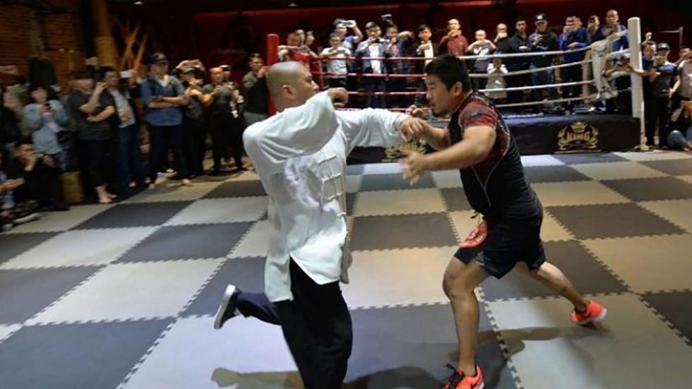 wei lei and mma fighter xu xiaodong